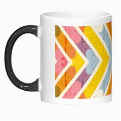 Line Pattern Cross Print Repeat Morph Mugs by Nexatart