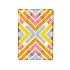 Line Pattern Cross Print Repeat Ipad Mini 2 Hardshell Cases by Nexatart