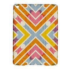 Line Pattern Cross Print Repeat Ipad Air 2 Hardshell Cases by Nexatart