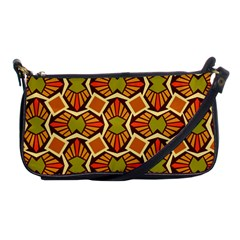 Geometry Shape Retro Trendy Symbol Shoulder Clutch Bags by Nexatart