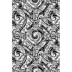 Gray Scale Pattern Tile Design 5 5  X 8 5  Notebooks by Nexatart