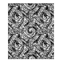 Gray Scale Pattern Tile Design Shower Curtain 60  X 72  (medium)  by Nexatart