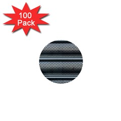 Sheet Holes Roller Shutter 1  Mini Buttons (100 Pack)  by Nexatart