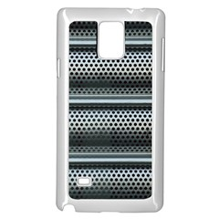 Sheet Holes Roller Shutter Samsung Galaxy Note 4 Case (white) by Nexatart