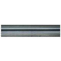 Sheet Holes Roller Shutter Flano Scarf (small) by Nexatart