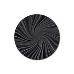 Abstract Art Color Design Lines Rubber Round Coaster (4 Pack)  by Nexatart