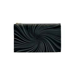 Abstract Art Color Design Lines Cosmetic Bag (small)  by Nexatart