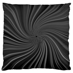 Abstract Art Color Design Lines Large Cushion Case (two Sides) by Nexatart