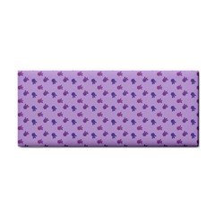 Pattern Background Violet Flowers Cosmetic Storage Cases by Nexatart