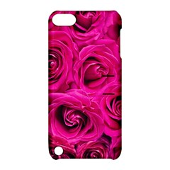 Pink Roses Roses Background Apple Ipod Touch 5 Hardshell Case With Stand by Nexatart