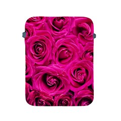 Pink Roses Roses Background Apple Ipad 2/3/4 Protective Soft Cases by Nexatart