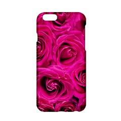 Pink Roses Roses Background Apple Iphone 6/6s Hardshell Case by Nexatart
