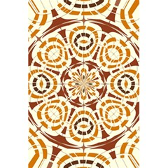 Brown And Tan Abstract 5 5  X 8 5  Notebooks by linceazul