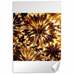 Mussels Lamp Star Pattern Canvas 24  X 36  by Nexatart