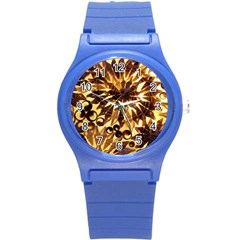 Mussels Lamp Star Pattern Round Plastic Sport Watch (s) by Nexatart