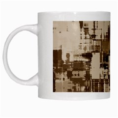 Color Abstract Background Textures White Mugs by Nexatart