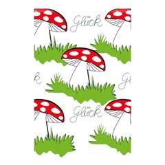Mushroom Luck Fly Agaric Lucky Guy Shower Curtain 48  X 72  (small)  by Nexatart