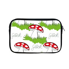 Mushroom Luck Fly Agaric Lucky Guy Apple Macbook Pro 13  Zipper Case by Nexatart