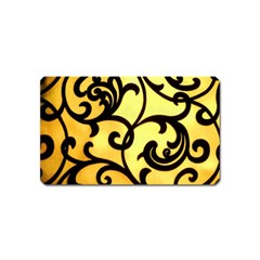 Texture Pattern Beautiful Bright Magnet (name Card) by Nexatart