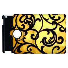 Texture Pattern Beautiful Bright Apple Ipad 2 Flip 360 Case by Nexatart