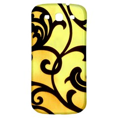 Texture Pattern Beautiful Bright Samsung Galaxy S3 S Iii Classic Hardshell Back Case by Nexatart
