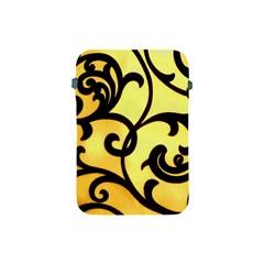 Texture Pattern Beautiful Bright Apple Ipad Mini Protective Soft Cases by Nexatart