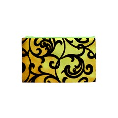 Texture Pattern Beautiful Bright Cosmetic Bag (xs) by Nexatart