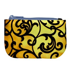 Texture Pattern Beautiful Bright Large Coin Purse by Nexatart