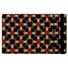Kaleidoscope Image Background Apple Ipad 2 Flip Case by Nexatart