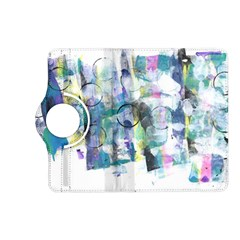 Background Color Circle Pattern Kindle Fire Hd (2013) Flip 360 Case by Nexatart