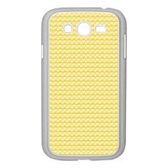 Pattern Yellow Heart Heart Pattern Samsung Galaxy Grand Duos I9082 Case (white) by Nexatart