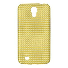 Pattern Yellow Heart Heart Pattern Samsung Galaxy Mega 6 3  I9200 Hardshell Case by Nexatart