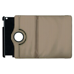 Pattern Background Stripes Karos Apple Ipad 2 Flip 360 Case by Nexatart