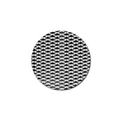 Expanded Metal Facade Background Golf Ball Marker (4 Pack) by Nexatart