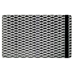 Expanded Metal Facade Background Apple Ipad 2 Flip Case by Nexatart
