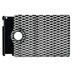 Expanded Metal Facade Background Apple Ipad 2 Flip 360 Case by Nexatart