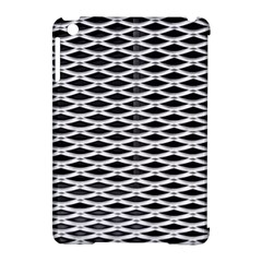 Expanded Metal Facade Background Apple Ipad Mini Hardshell Case (compatible With Smart Cover) by Nexatart