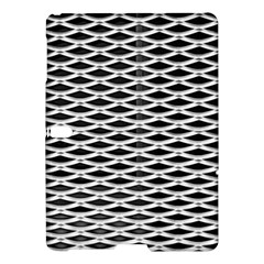 Expanded Metal Facade Background Samsung Galaxy Tab S (10 5 ) Hardshell Case  by Nexatart