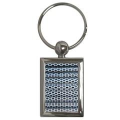 Texture Pattern Metal Key Chains (rectangle)  by Nexatart