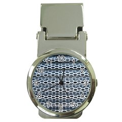 Texture Pattern Metal Money Clip Watches by Nexatart