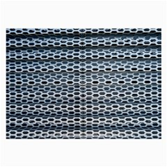 Texture Pattern Metal Large Glasses Cloth (2 Side) by Nexatart