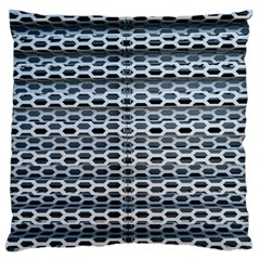 Texture Pattern Metal Standard Flano Cushion Case (two Sides) by Nexatart