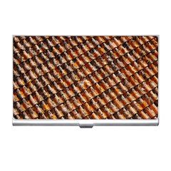 Dirty Pattern Roof Texture Business Card Holders by Nexatart
