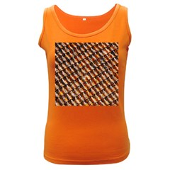 Dirty Pattern Roof Texture Women s Dark Tank Top by Nexatart