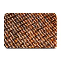 Dirty Pattern Roof Texture Plate Mats by Nexatart
