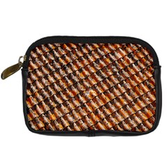 Dirty Pattern Roof Texture Digital Camera Cases by Nexatart