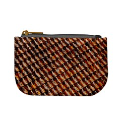 Dirty Pattern Roof Texture Mini Coin Purses