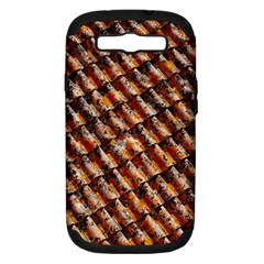 Dirty Pattern Roof Texture Samsung Galaxy S Iii Hardshell Case (pc+silicone) by Nexatart