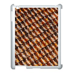 Dirty Pattern Roof Texture Apple Ipad 3/4 Case (white) by Nexatart