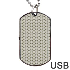 Background Website Pattern Soft Dog Tag Usb Flash (two Sides) by Nexatart